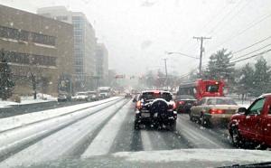 Snowy Commute 450x280