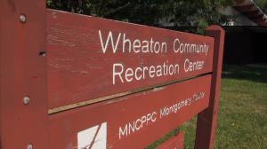 Wheaton Rec Center sign