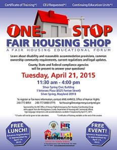 One Stop Forum April 2015