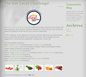 The Eat Local Challenge