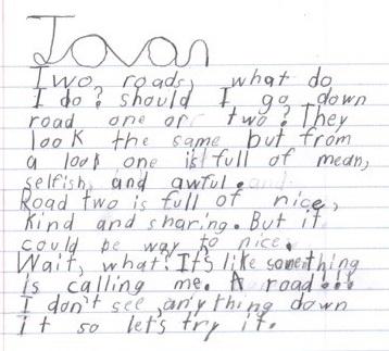 joan writing