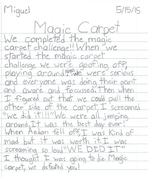 Magic Carpet Yes-Miguel