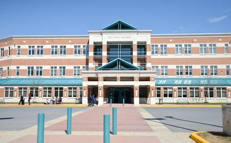 photo of Walt Whitman High School in Bethesda