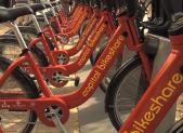 Bikeshare bikes
