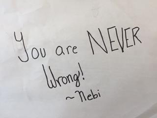 Words of Wisdom Nebi