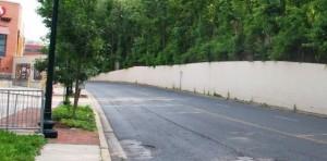 Capital Crescent Retaining Wall PHOTO | Bethesda UP