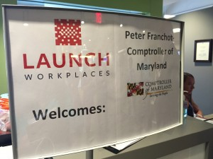 Franchot Launch Workplaces Gaithersburg