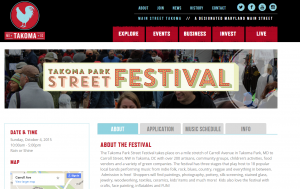 Takoma Park Street Festival   Main Street Takoma