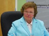 Barbara Mikulski visits Montgomery College