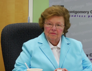 Barbara Mikulski visits Montgomrey College