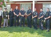 Public Safety Award recipients from MCPD  6th District PHOTO | Phil Fabrizio
