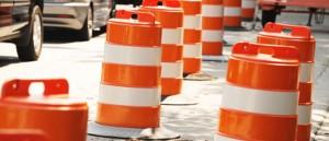 Road close cones 885x380