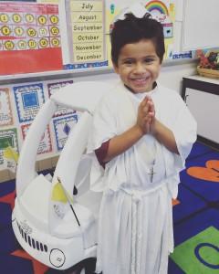 Maximiliano Hernandez of St. Jude Catholic School PHOTO   Ellen Donnelly