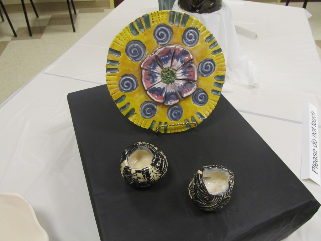 Talented residents of Riderwood will display their work at the Art of Ceramics Exhibition on November 10.