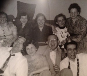 In this 1953 photo, pioneer families of Greenbelt, MD, were developing lifelong friendships through socializing, community activism, and of course, playing poker.