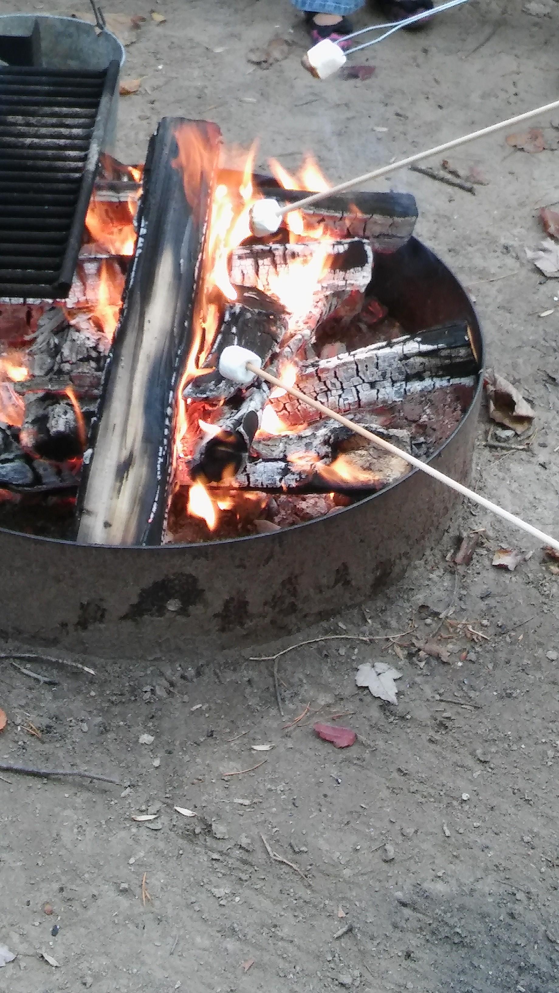 Warm fire!