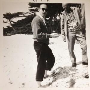 Harry Zubkoff and nephew