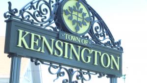 town of kensington sign