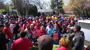 Verizon Workers Strike in Silver Spring