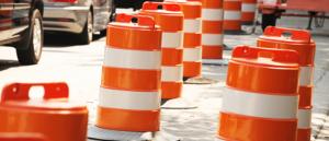 Road Construction Cones 885x380