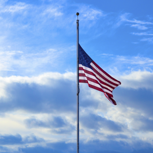 american flag at half staff featured.fw