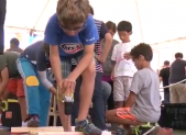 Young boy at 2016 Silver Spring Maker Faire