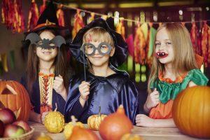 halloween costumes i stock photo