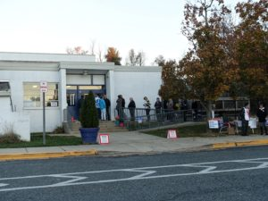 potomac lines election day