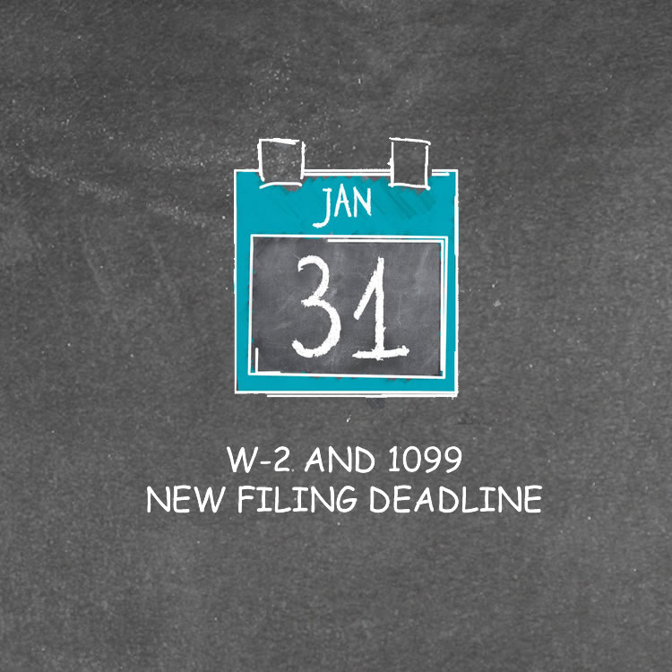 Earlier Filing Deadlines In 2017 For Forms W 2 And 1099 Montgomery