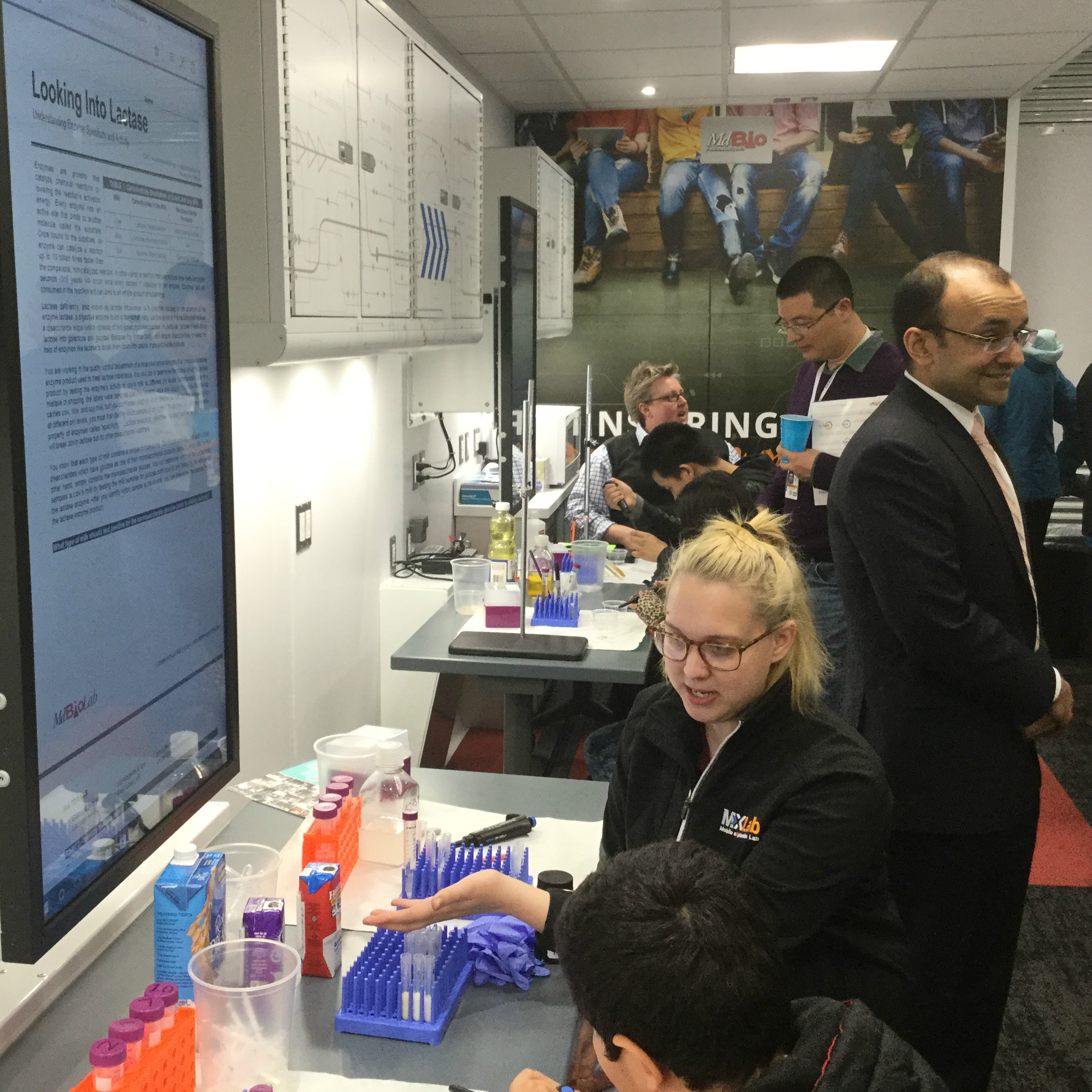 New Mobile Lab To Encourage STEM Careers Among High School