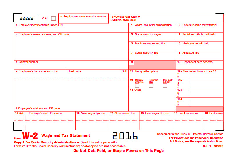 Scammers Using W 2 Forms To Obtain Your Personal Information