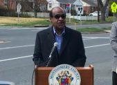 Montgomery County Executive Ike Leggett discusses the dangers of distracted driving.