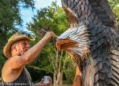Finishing touches on the Eagle