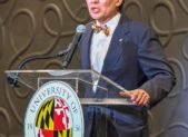 UM President Wallace Loh    (Photo by Phil Fabrizio for Montgomery Community Media)